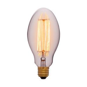 Дизайнерская винтажная лампа прозрачная E75 F2 код 053-419