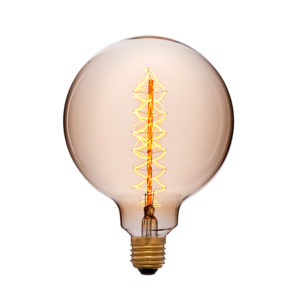 Дизайнерская-винтажная-лампа-G125F5-золотая-код-052-030