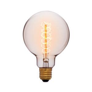 Дизайнерская-винтажная-лампа-G95F5-золотая-код-052-009