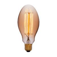 Лампа эдисона E75 F2 золотая 40вт е27 код 052-407 Sun-Lumen