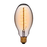 Лампа эдисона E75 F5+ прозрачная 60вт е27 код 053-686 Sun-Lumen