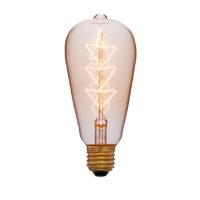 Лампа эдисона ST64 F10 золотая 40вт е27 код 053-556 Sun-Lumen