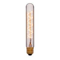 Лампа эдисона T30-185 F5 золотая 40вт е27 код 053-853 Sun-Lumen