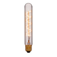 Лампа эдисона T30-185 F5 прозрачная 60вт е27 код 053-884 Sun-Lumen