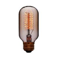 Лампа эдисона T45 F5+ прозрачная 60вт е27 код 053-631 Sun-Lumen