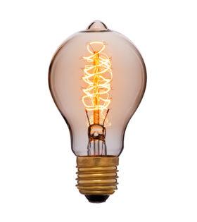 Лампа эдисона A60 F5 золотая 60вт е27 код 053-617 Sun-Lumen